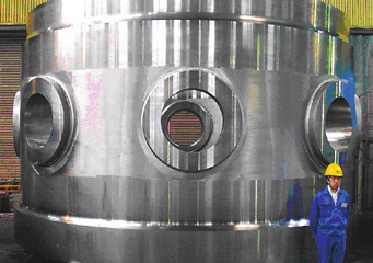 Shell Flanges for Nuclear Reactor Pressure Vessel